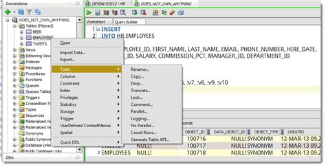 Why Can't I See My Tables in Oracle SQL Developer