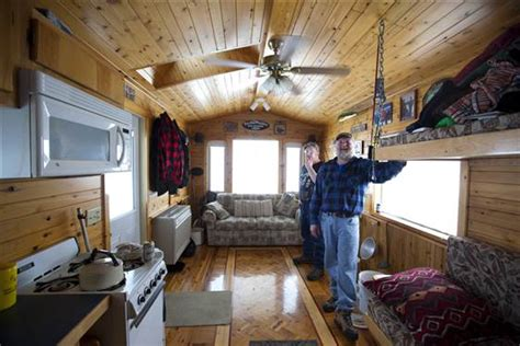 Ice fishing goes upscale in Mille Lacs, Minn