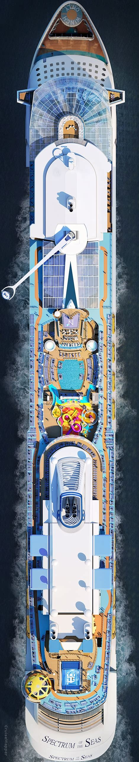 Spectrum Of The Seas - Itinerary Schedule, Current