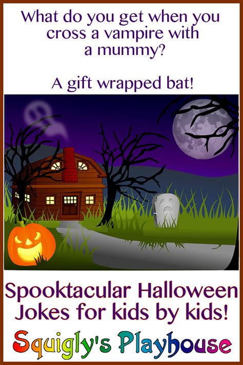 Spook-tacular Halloween Jokes for Kids   Squigly's Playhouse