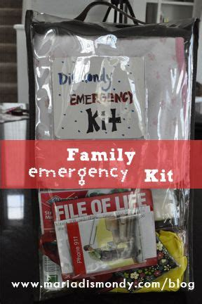 12 best images about Family Emergency Kits on Pinterest