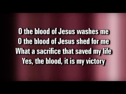 O The Blood Video Worship Song Track with Lyrics