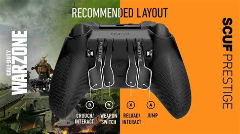 Expert Controller Settings in Call of Duty: Warzone   Scuf