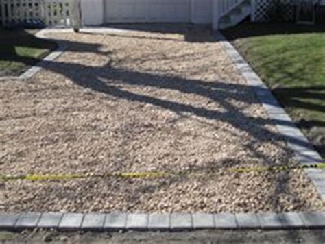 How To Install A Pea Gravel Driveway   Pea gravel driveway
