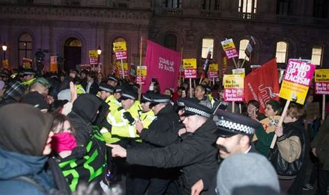 Election protests planned across the UK as furious left