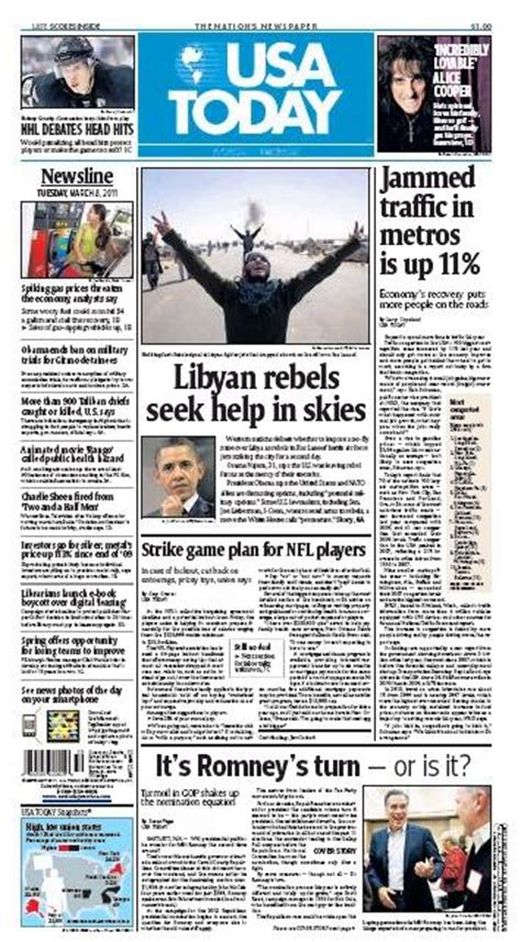 USA Today Epaper   USA Today Online Newspaper