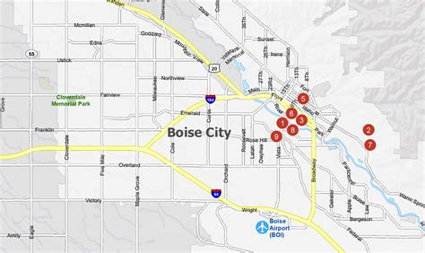 Boise Map Collection [Idaho] - GIS Geography