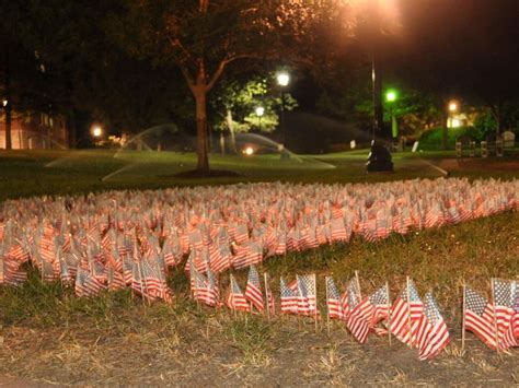 9/11 Remembrance Day at Agnes Scott College campus