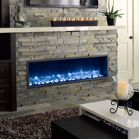 Dynasty Built-In Electric LED Fireplace - Fireplace