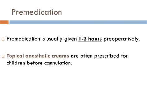 PPT - Pre-operative Pre - medication PowerPoint