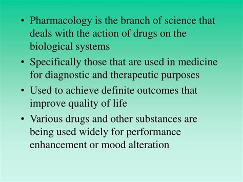 PPT - Chapter 17: Pharmacology, Drugs and Sports