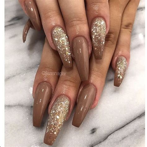 Pin by Katrice Burt on Nails | Brown nails design, Brown