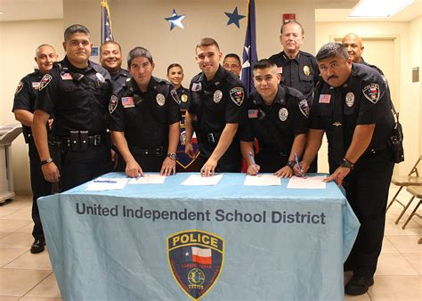 United ISD Police Department Welcomes Five New Officers