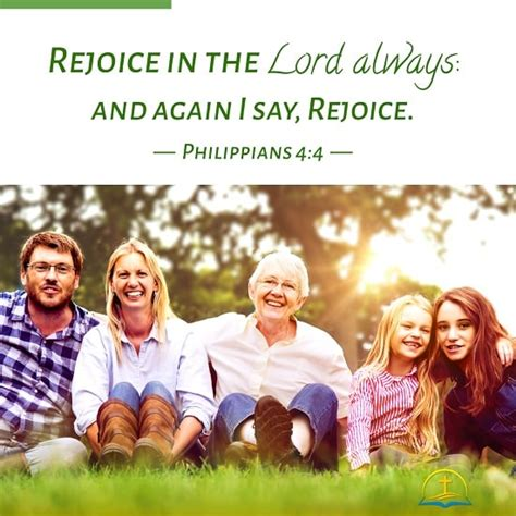 Philippians 4:4 - Bible Verse Image About Happiness