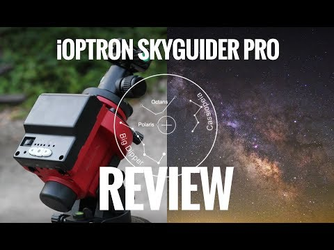 Ioptron skytracker skyguider pro, looking for american