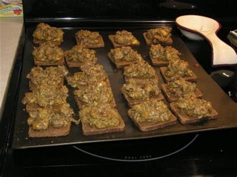 Barbs Recipe of the Day: Rye Bread Appetizer a