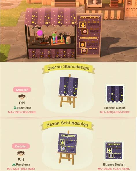 A Fortune Teller/ Witch Booth I designed : AnimalCrossing