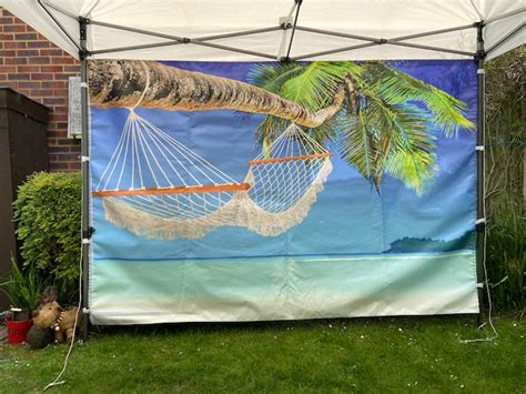 Hammock on the Beach Hot Tub and Gazebo Package for hire