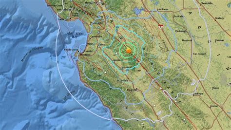 134 earthquakes in Monterey County since last week's 4