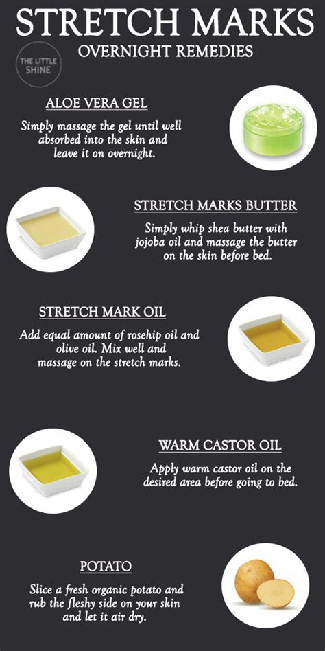 OVERNIGHT REMEDIES FOR STRETCH MARKS – The Little Shine