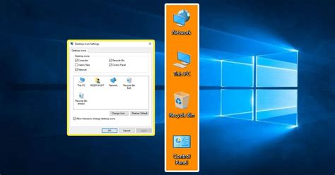 How To Show Default Desktop Icons In Windows 10 - My