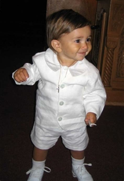 Boys' Christening Gowns and Outfits: Sizes 18 to 24 Months