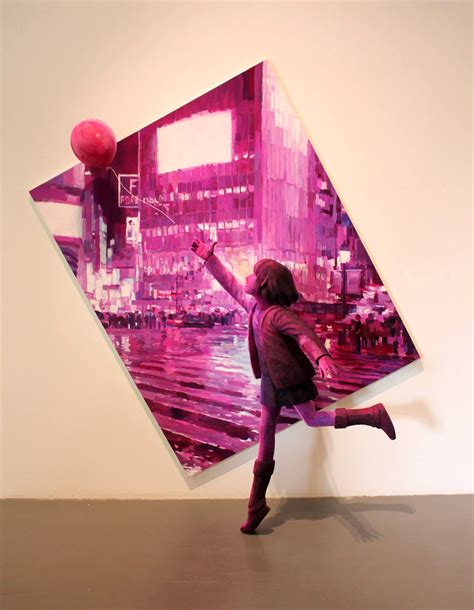3D Sculptural Paintings by Shintaro Ohata | Colossal