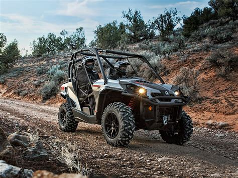 2015 Can-Am Commander XT Review - Top Speed