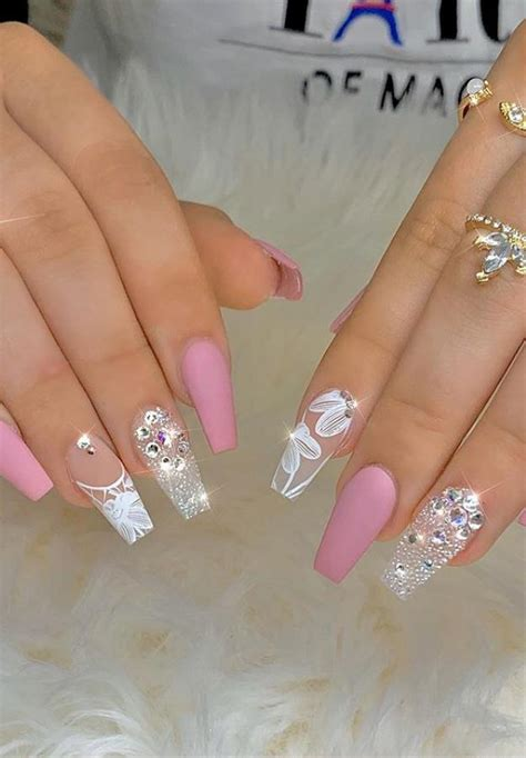 41 Kinds Long Coffin Gold Nail, More Suitable For
