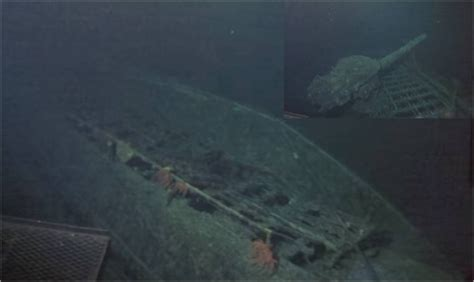 Wreck of the Imperial Japanese Navy Aircraft-Carrier