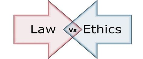 Difference Between Law and Ethics (with Comparison Chart