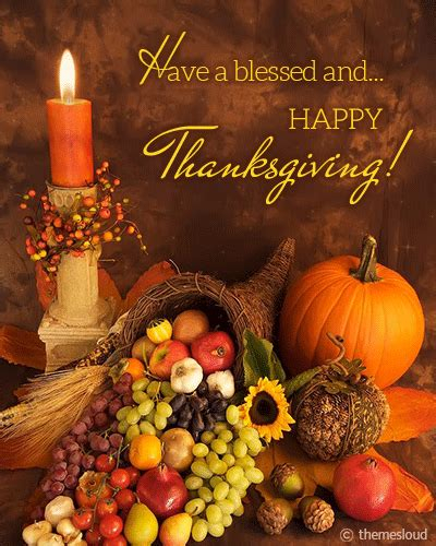 Blessed Thanksgiving Wish! Free Happy Thanksgiving eCards