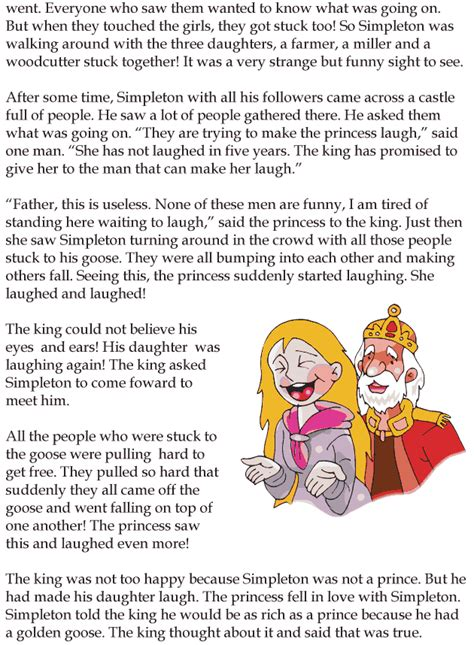 Grade 3 Reading Lesson 6 Fairy Tales – The Golden Goose