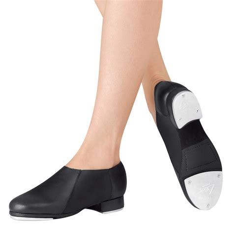 Slip On Jazz Tap Shoes - Tap Shoes | DiscountDance
