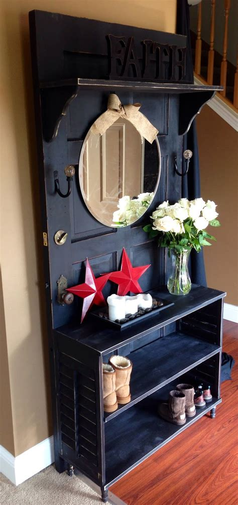 33 Artistic and Practical Repurposed Old Door Ideas | Do