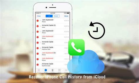 How to Recover Deleted iPhone Call History from iCloud