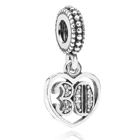 Pandora 30 Pendant Charm 791287CZ from Gift and Wrap UK