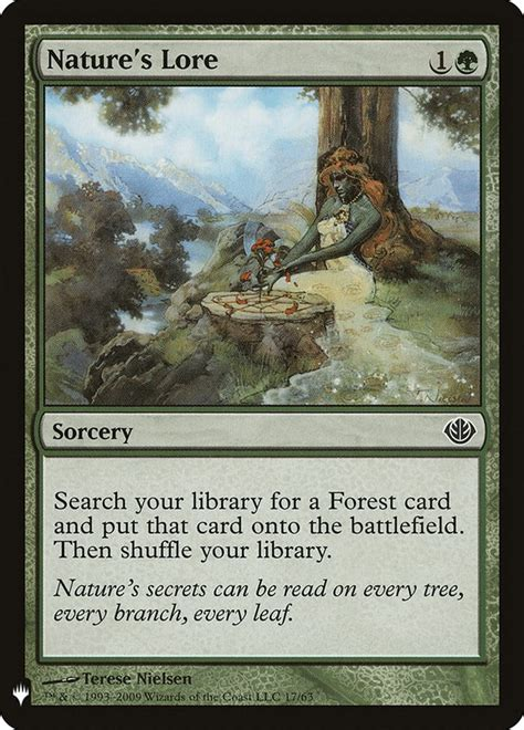 Nature's Lore · Mystery Booster (MB1) #1276 · Scryfall