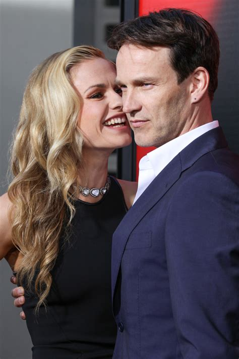 Anna Paquin And Stephen Moyer Pack On The PDA | HuffPost