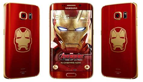Samsung Galaxy S6 Edge Iron Man Edition officially Launched