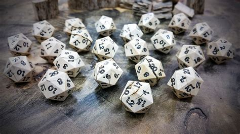 D20 dice made from wooly mammoth ivory / Boing Boing