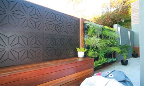 PROJECT GALLERY Outdoor Decorative Privacy Screens; Examples