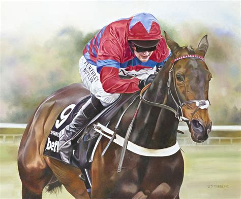 SPRINTER SACRE Limited Edition Horse Racing Print by