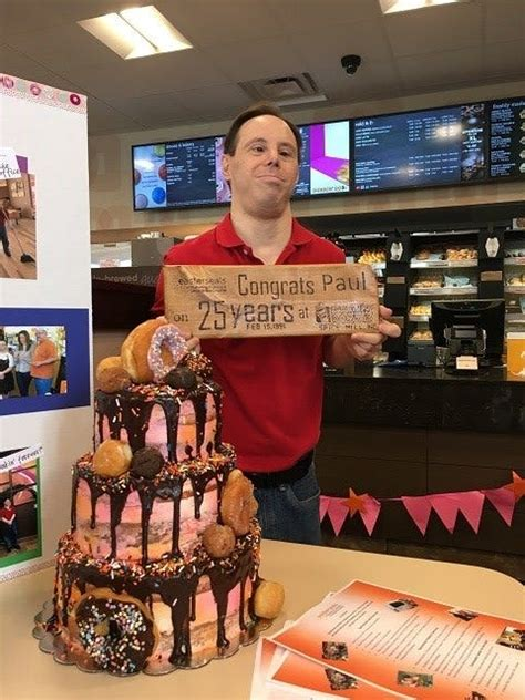 Dunkin' Donuts on Boardman Poland Road honors long time