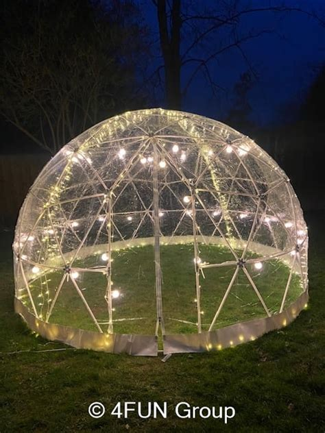 Stargazer Igloo Dome (Includes Overnight) - Party
