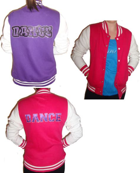 Varsity or baseball jackets with dance logos | The Dancers