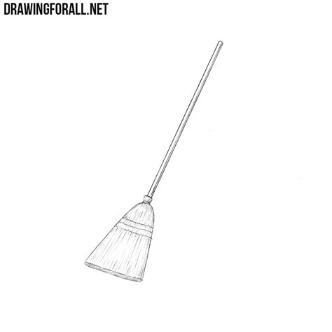 How to Draw a Broom | DrawingForAll