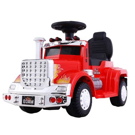 Kids Electric Ride On Truck in Red | Buy Online at Toy