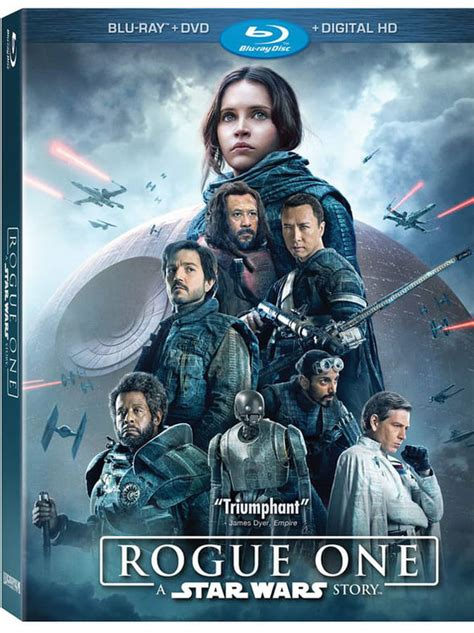 Rogue One DVD Blu-ray release date and bonus extras Star