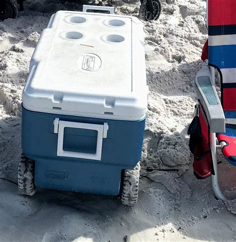 Coolers with Wheels for Easy Transporting to The Beach